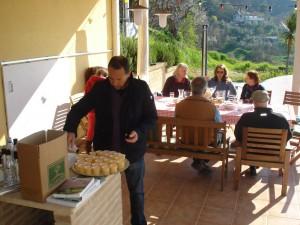 Olivenölverkostung mit Tiziano Aleandri
