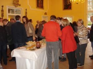 95 Gäste drängelten sich um die kulinarischen Köstlichkeiten.