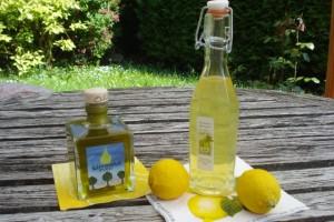 Zitronige Sommeroffensive: Limonolio und Limoncello