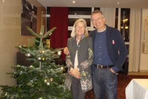 Heidi Rauch und Michael Konitzer wünschen Frohe Weihnachten!
