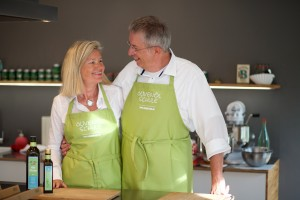 Michael kocht, Heidi bäckt - wir beide wecken die Leidenschaft für Olivenöl!