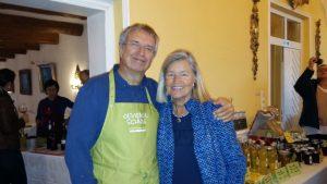 Wir beide, Heidi und Michael, freuen uns auf Sie 2017 bei unserer Olivenölschule!