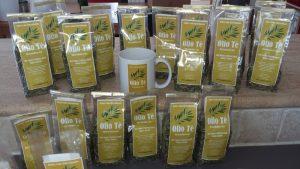 Unseren Energiespender Olio Tè gibt es in 50- und 100 Gramm-Tüten.