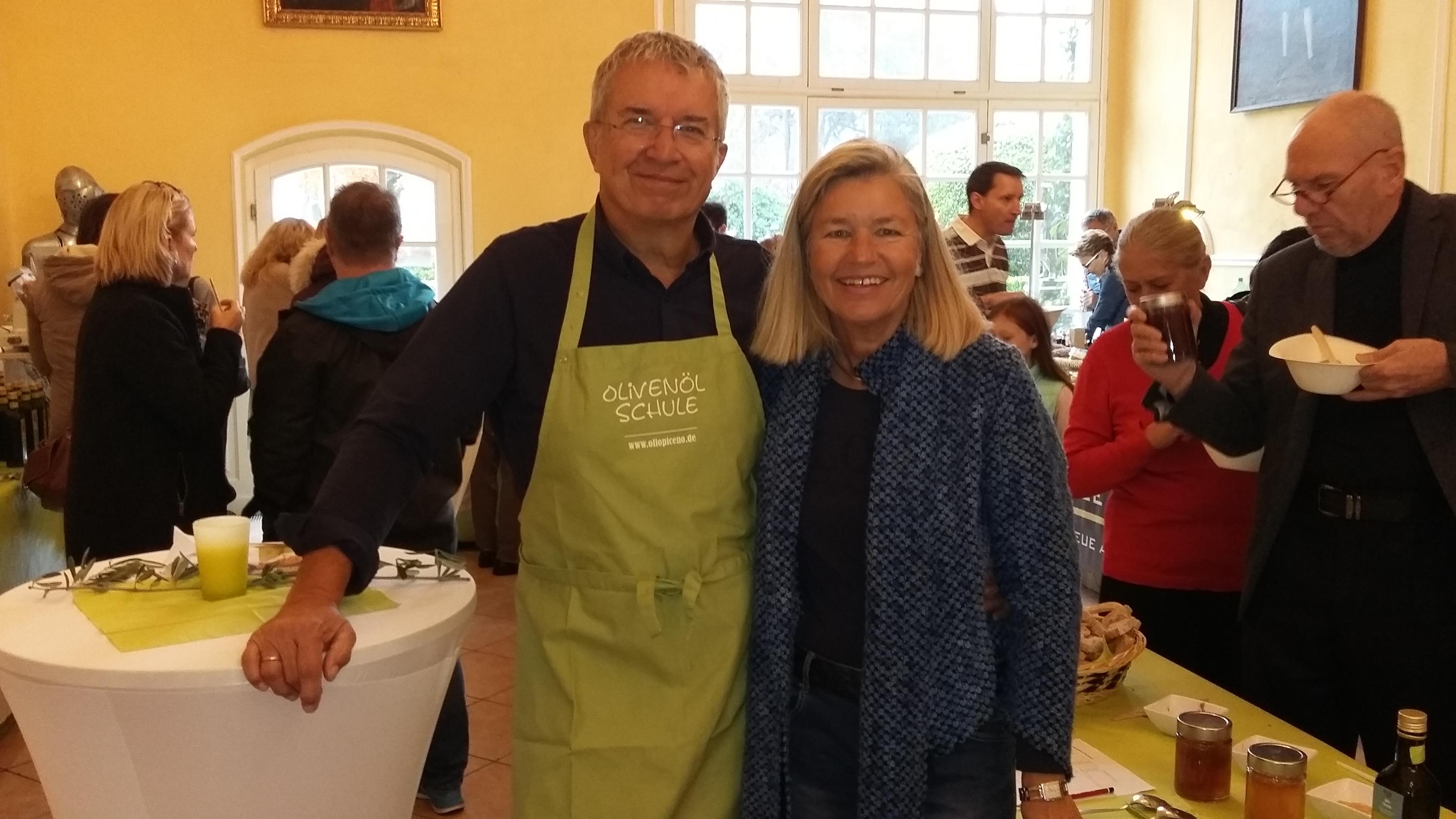 Michael und Heidi freuen sich auf viele Gäste auch am 1. Dezember im Golfclub München Eichenried.
