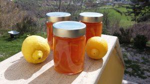Sieht orange aus, ist aber Zitronen-Marmelade.