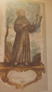 Franz von Assissi in der Chiesa San Franceso in Rovereto bei Fano