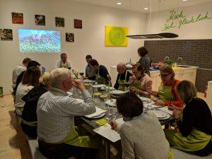 """Olivenölschul-Verkostung bei """"Koch Dich glücklich!"""": ein Genuss für uns und unsere Gäste"""