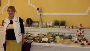 Auch wieder mit dabei: Franziska Schnauder-Sanke mit ihrer schönen Keramik